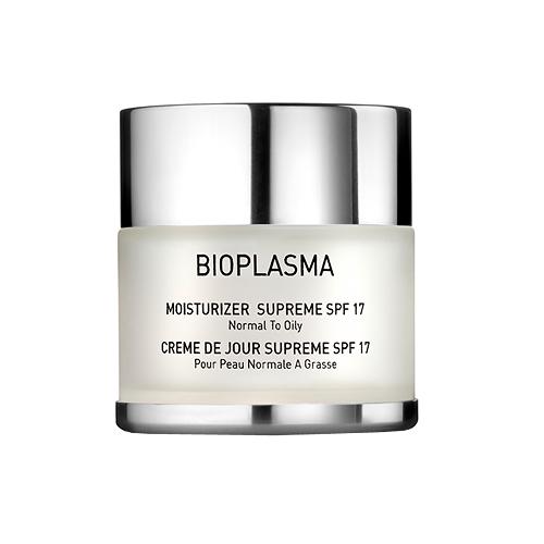 BIOPLASMA Moisturizer Supreme SPF 17 Крем увлажняющий для нормальной и жирной кожи с SPF 17