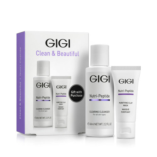 GIGI - Travel Kit Nutri-Peptide (Набор Нутри-Пептид для идеально чистой кожи)