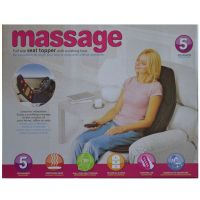 Массажная накидка Massage seat topper.
