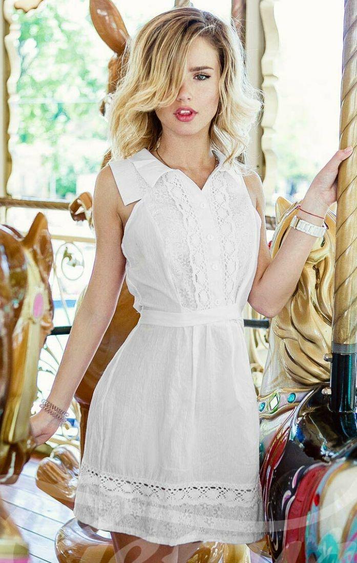 Нежное летнее платье