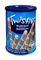 Вафельные трубочки с ванильным кремом Twisties - 400 гр