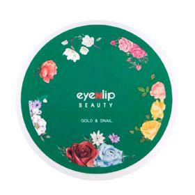 Eyenlip Gold & Snail Hydrogel Eye Patch 60шт - гидрогелевые патчи с муцином улиток и золотом