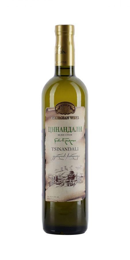 Вино Цинандали, Кварельский Погреб, белое, сухое, 0,5