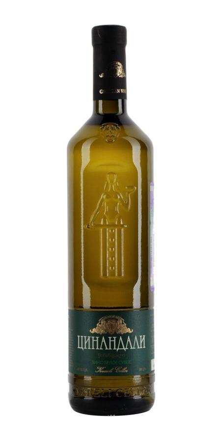 Вино Цинандали, Мать Грузии, белое, сухое, 0,75