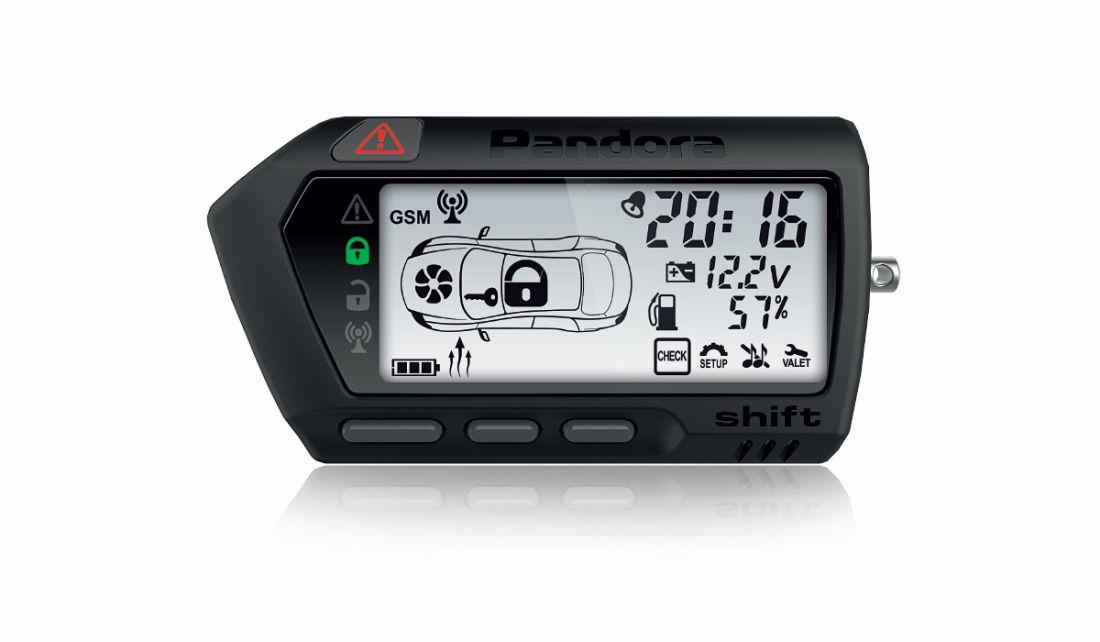 Брелок LCD DXL705 black
