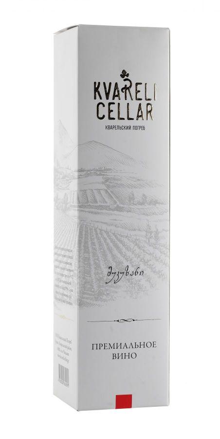 Вино Цинандали, Премиум, белое, сухое, 0,75
