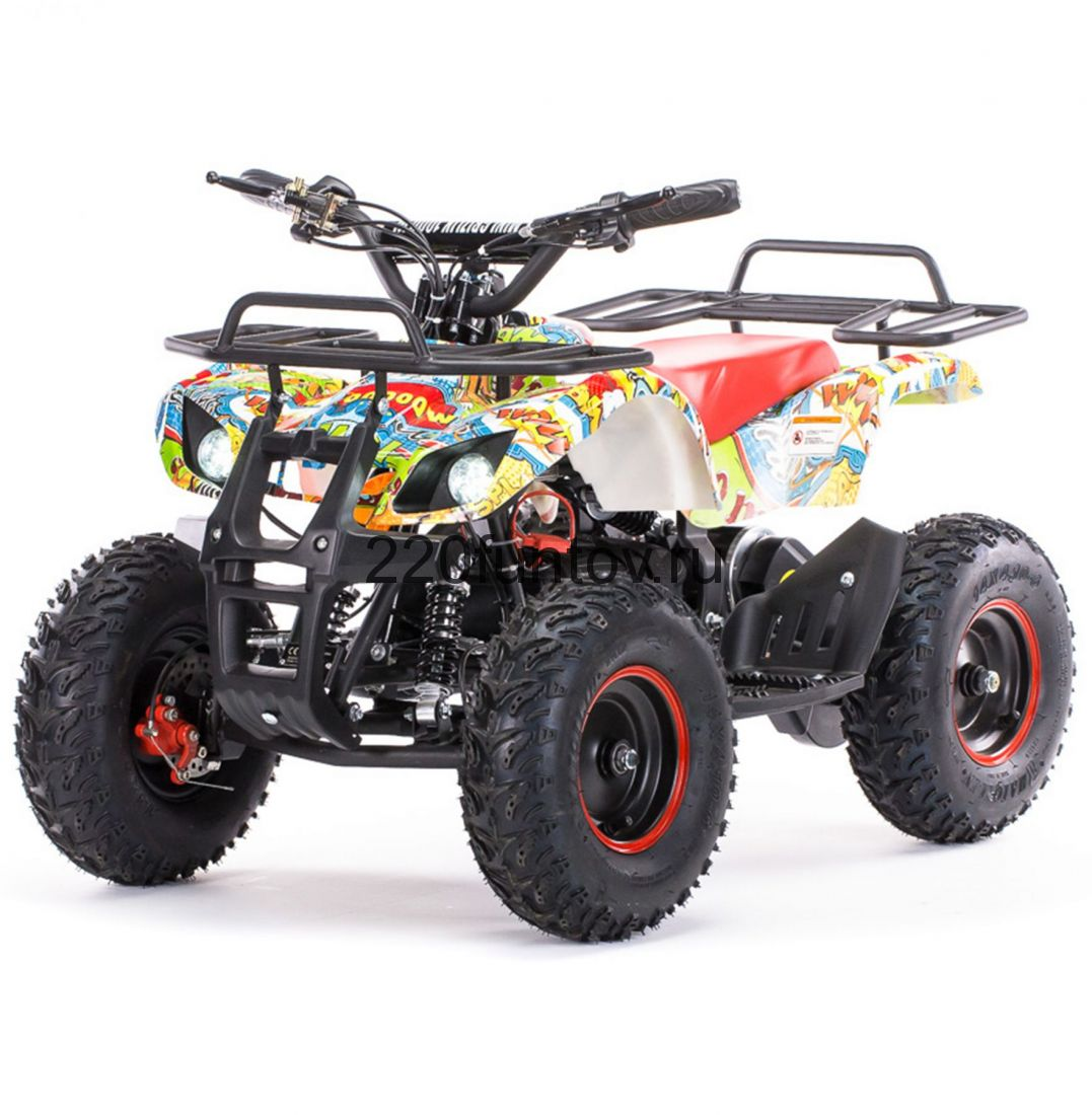MOTAX Mini Grizlik BIG WHEEL Х-16 электростартер Квадроцикл бензиновый