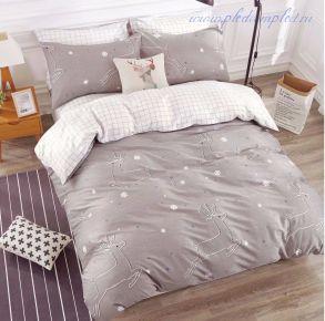 Комплект постельного белья на резинке (модель AR065-2СП)
