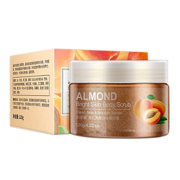 BioAqua Питательный скраб-дренаж для тела абрикосовой косточкой