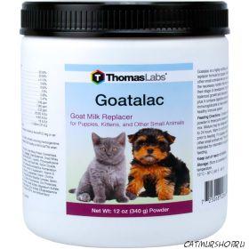 Goatalac - заменитель молока для котят и щенят 340 гр.