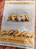 """Набор для вышивания крестиком """"Golden dreams""""."""
