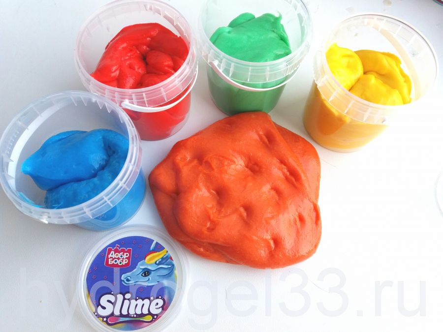 Флаффи Слайм (Fluffy slime) 150 мл