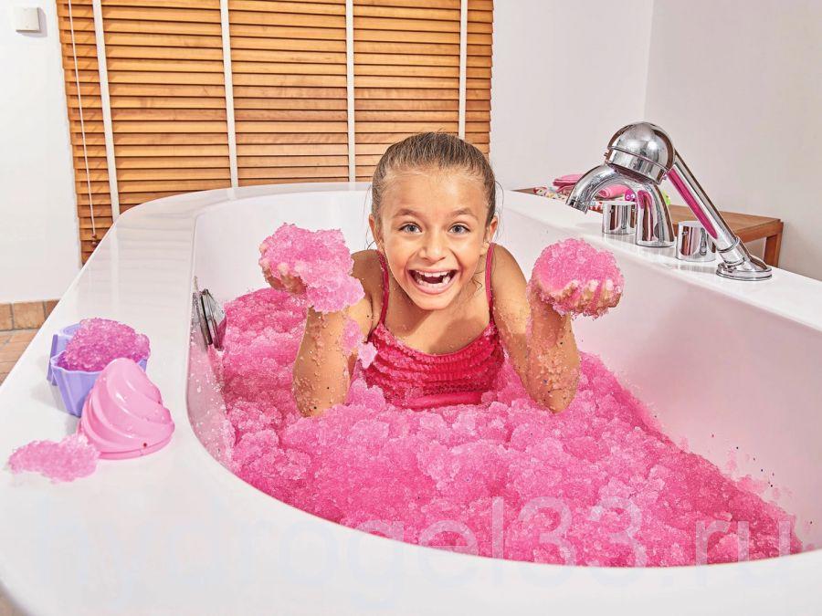 Желе для ванны Frolly Jolly розовое
