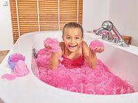 желейная ванна розовая