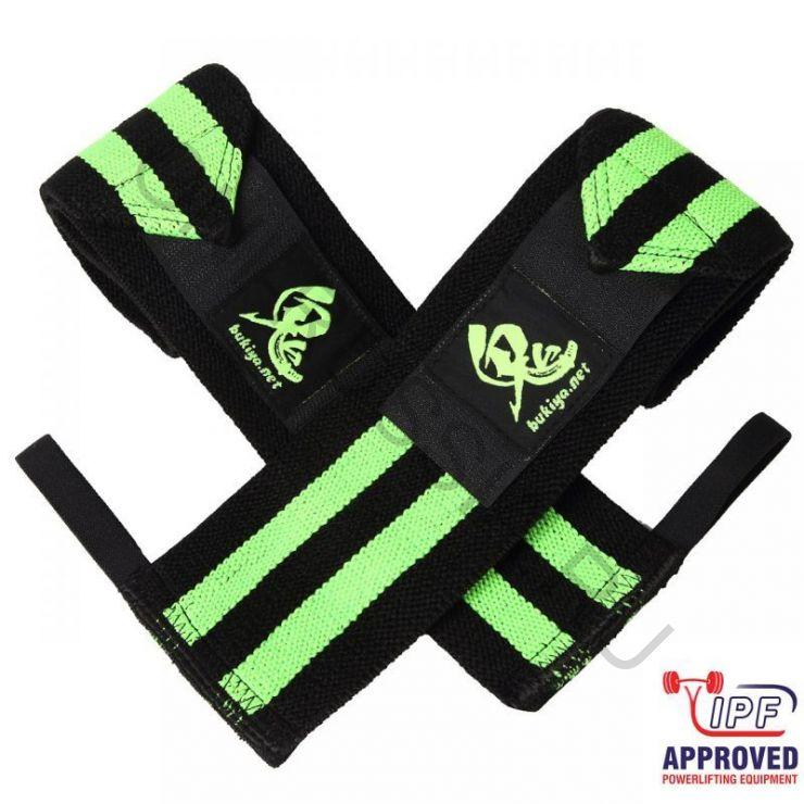 Кистевые бинты Oni Emerald wrist wraps IPF approved