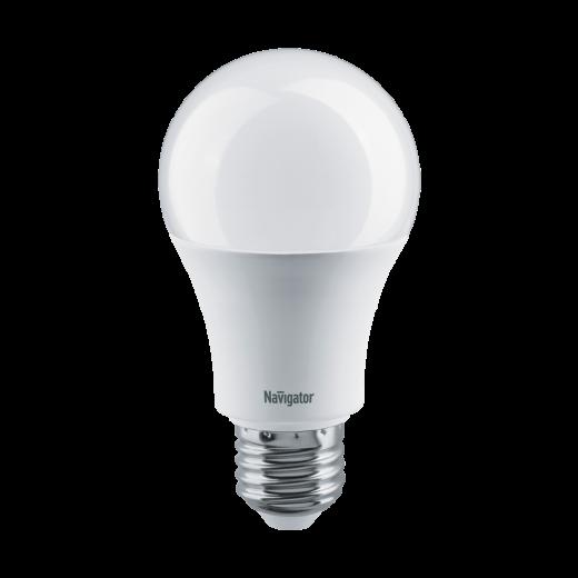 Лампа A60 светодиодная 8 Вт. Navigator Е27 диммируемая