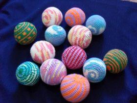 Мячики поролоновые