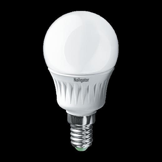 Лампа G45 светодиодная 7 Вт. FR Navigator Е14