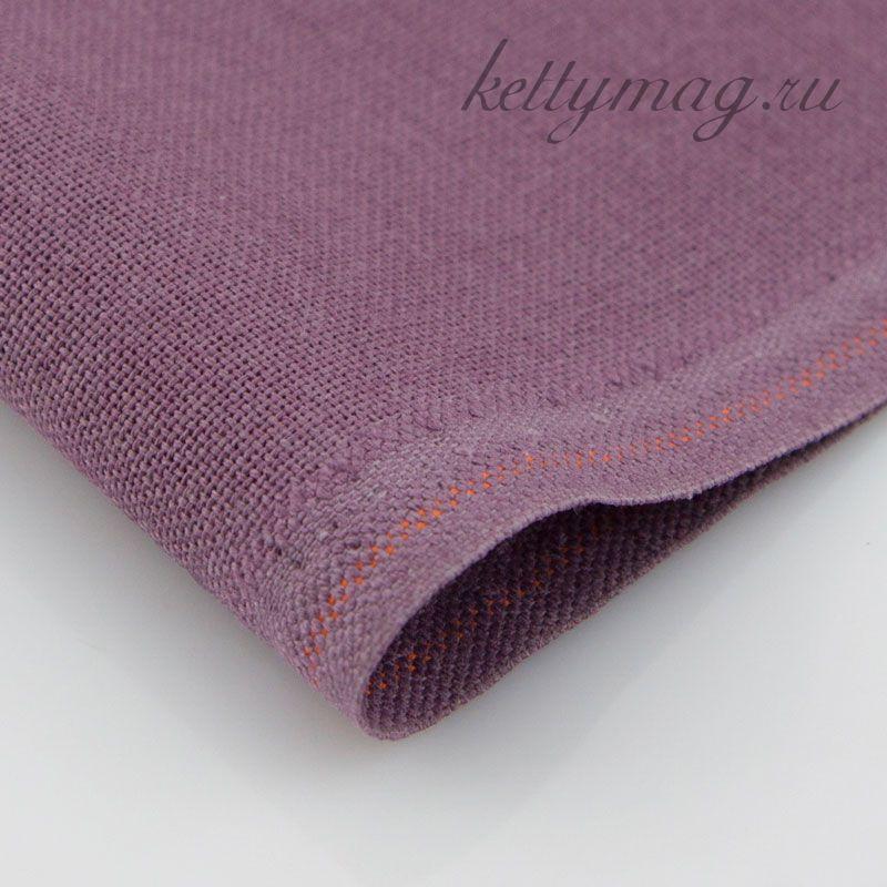 Канва Zweigart  MURANO (LUGANA) 32 CT арт 3984/9033 сливовый/plum