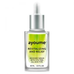 Ayoume Vita Tree Revitalizing and Relief Serum 30ml - сыворотка восстанавливающая для лица