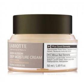 LABIOTTE Linden Blossom Deep Moisture Cream 50ml - Глубокоувлажняющий крем с цветками липы