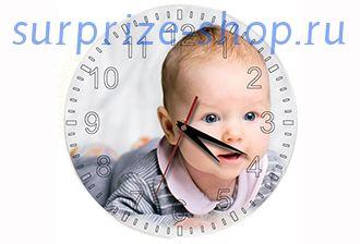 Часы настенные стеклянные Круг SC27 d-18см