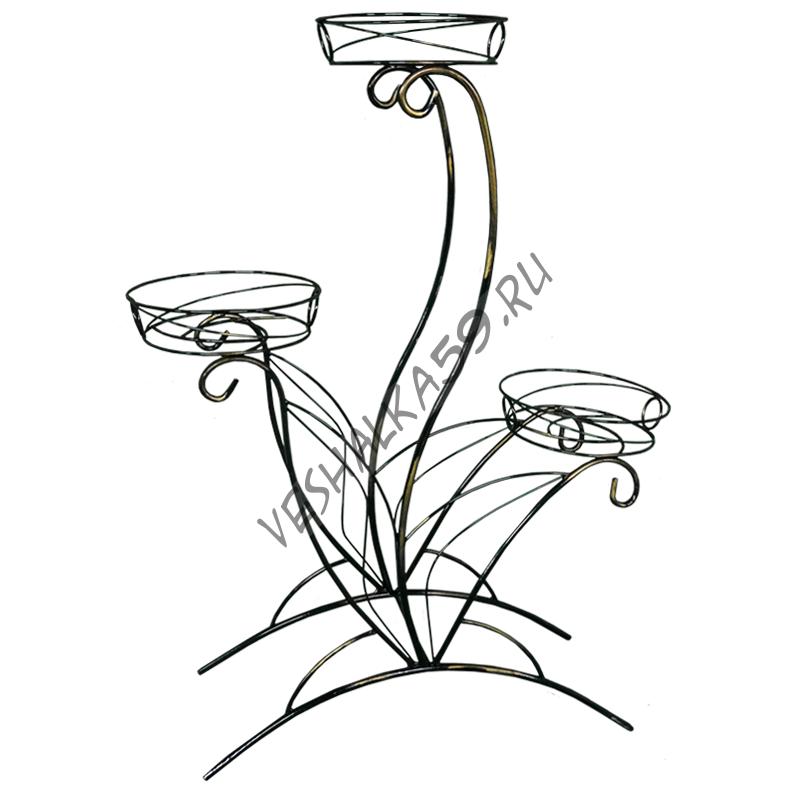 Подставка для цветов Лотос 3