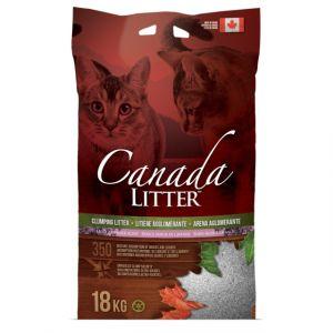 "Наполнитель Canada Litter Канадский комкующийся ""Запах на Замке"" с ароматом лаванды, Scoopable Litter 6кг"