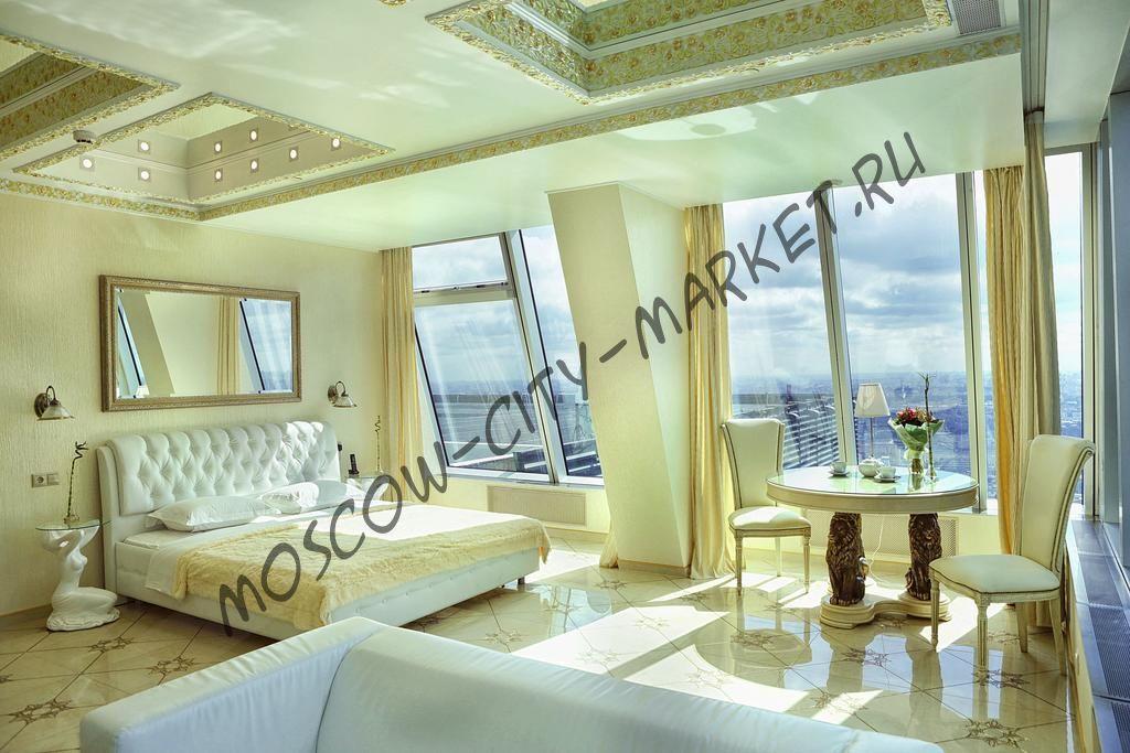 Апартаменты в Москва-Сити Представительский Люкс с большой ванной