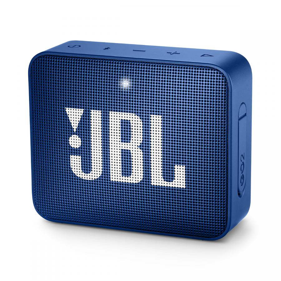 Портативная bluetooth колонка JBL Go 2 синяя
