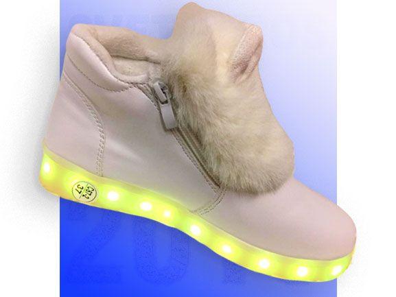 Светящиеся кроссовки 37