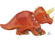 """А ФИГУРА Динозавр Трицератопс, 42""""/ 106 см X 24""""/ 60 см"""