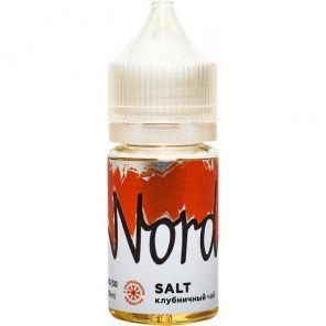 Е-жидкость Nord Salt Клубничный чай, 30 мл.