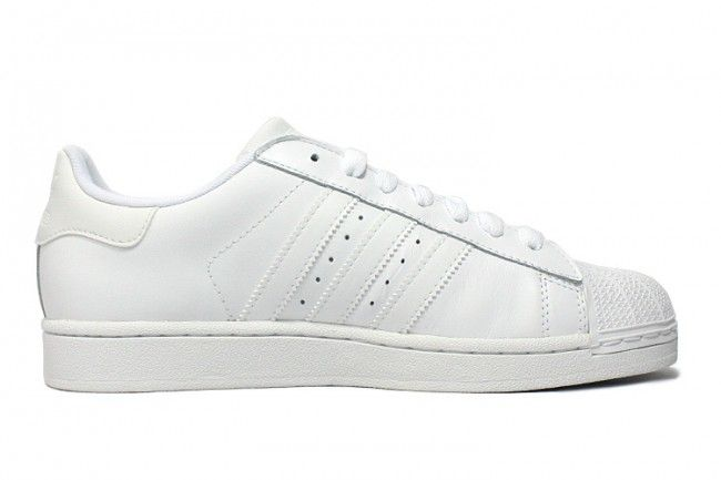 Adidas Superstar II  All White