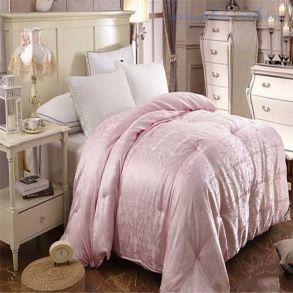 Шелковое 2 Спальное Одеяло (Чехол Из Жаккарда)