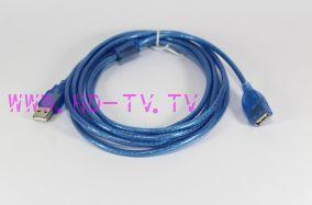 кабель удлинитель USB 5.0 метра ( 2.0 )