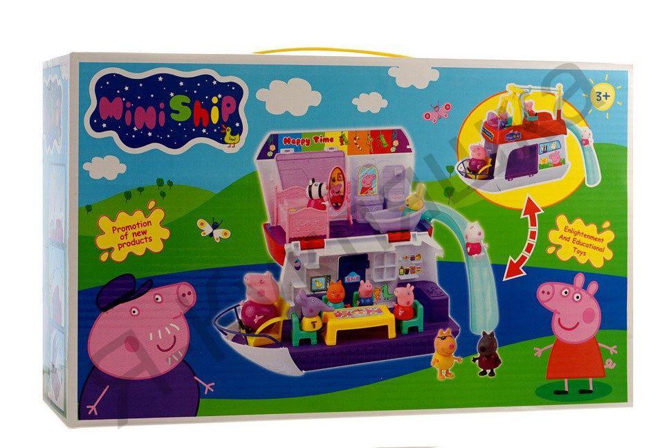 Игровой набор «Катер Свинки Пеппы»