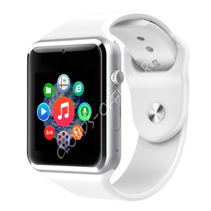 Умные часы Smart Watch W8 (белые)