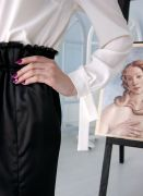 блузка с бантами