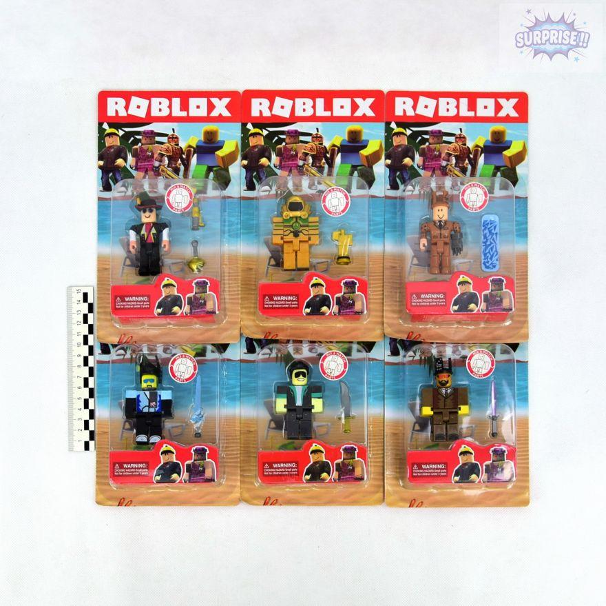 Roblox фигурка героя с аксессуарами 7,5см