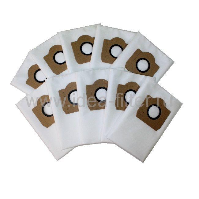 IDEA C-04 мешок для пылесоса SOTECO 5 штук синтетический (36 L)