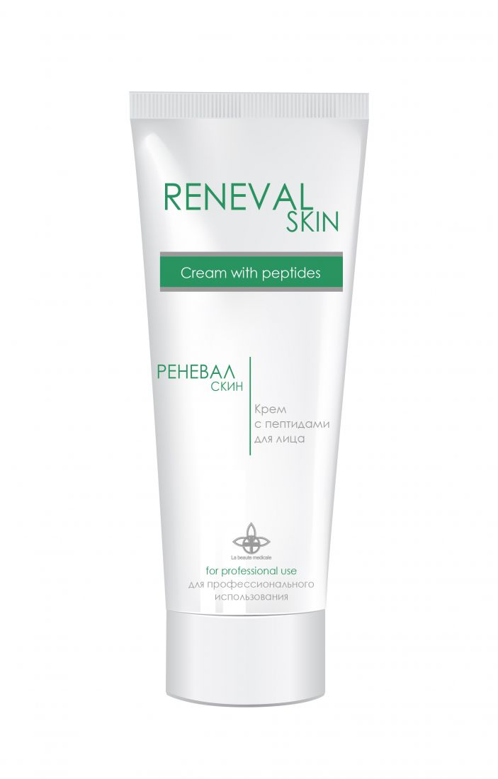 Ревитализирующий крем для лица с пептидами RENEVAL SKIN, 50 мл