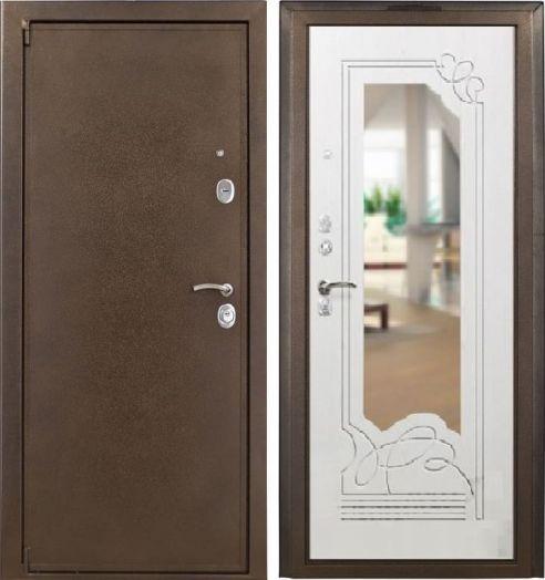 Входная дверь Ampir (бел. дуб)