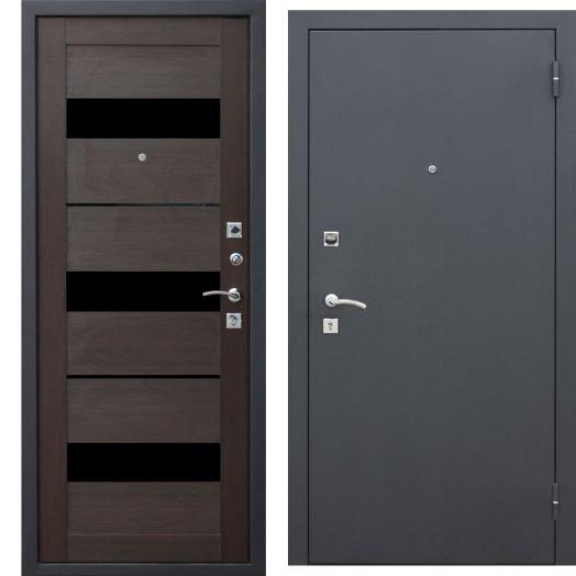 Входная дверь ГАРДА МУАР ЦАРГА 22 мм (тёмный кипарис)