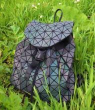 Голографические рюкзаки и сумки хамелеоны