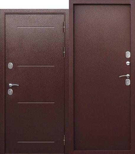 Входная дверь 11 см Isoterma Медный Антик металл/металл