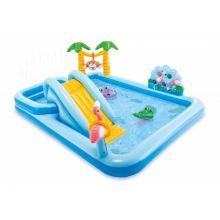 Игровой центр-бассейн Приключения в Джунглях (257х216х84 см) Intex