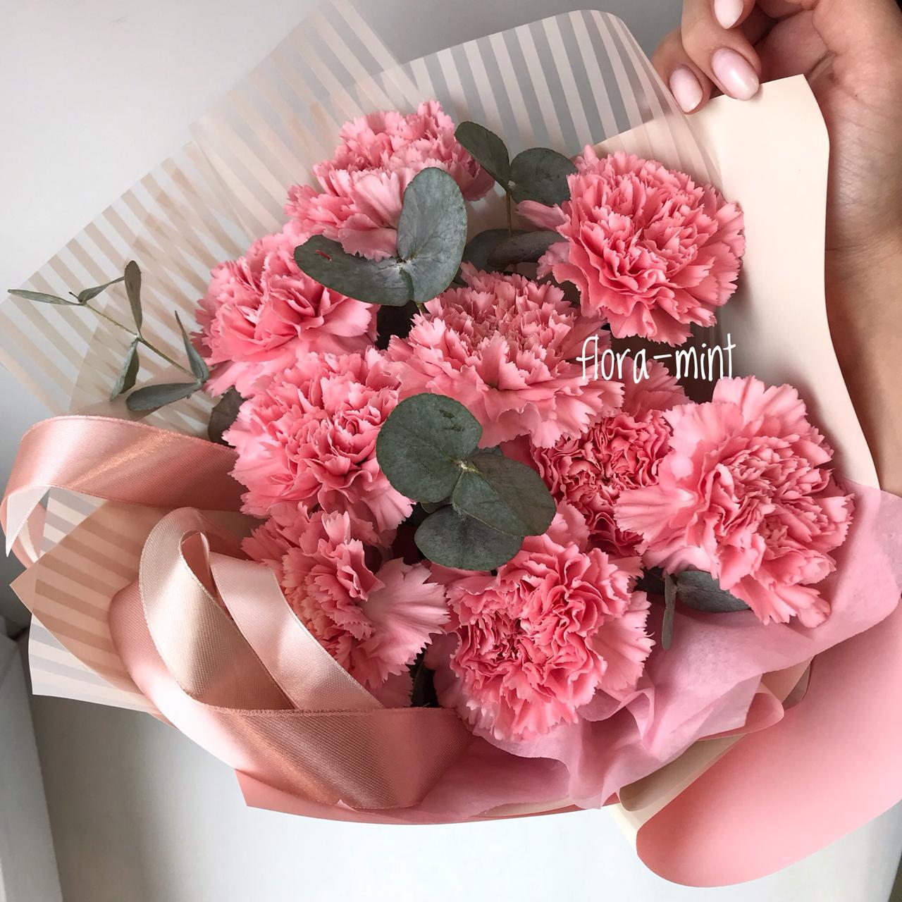 Букет цветов Робкая надежда
