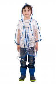 Дождевик детский прозрачный