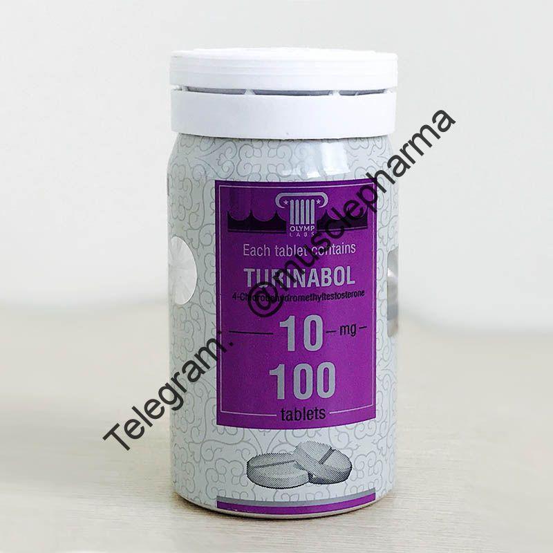TURINABOL (ТУРИНАБОЛ). OLYMP LABS. 100 таб. по 10 мг.